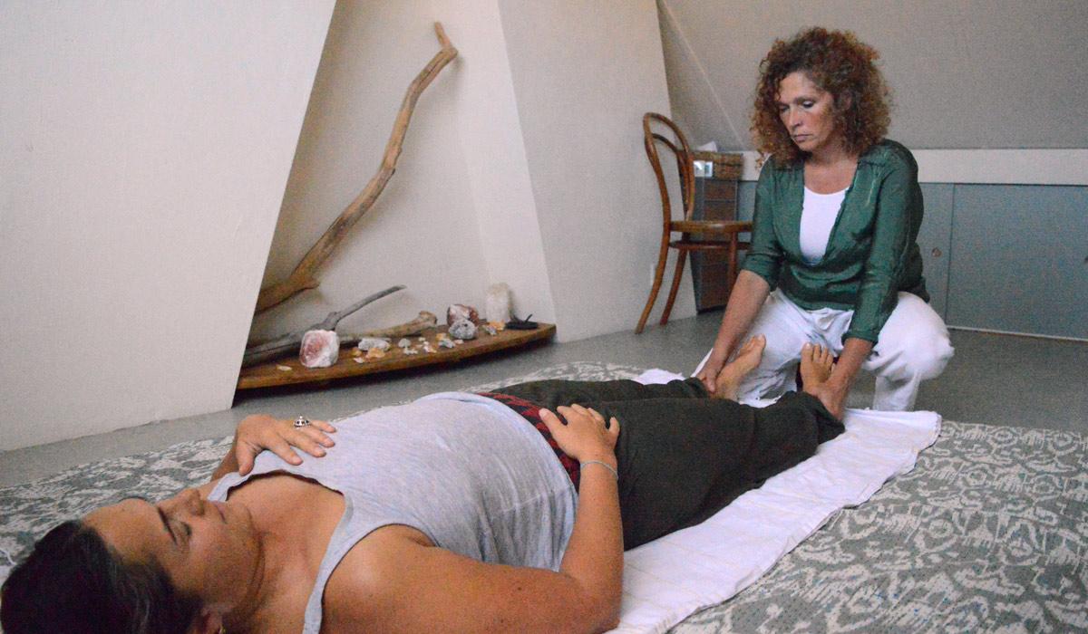 shiatsu massage punten op de voet