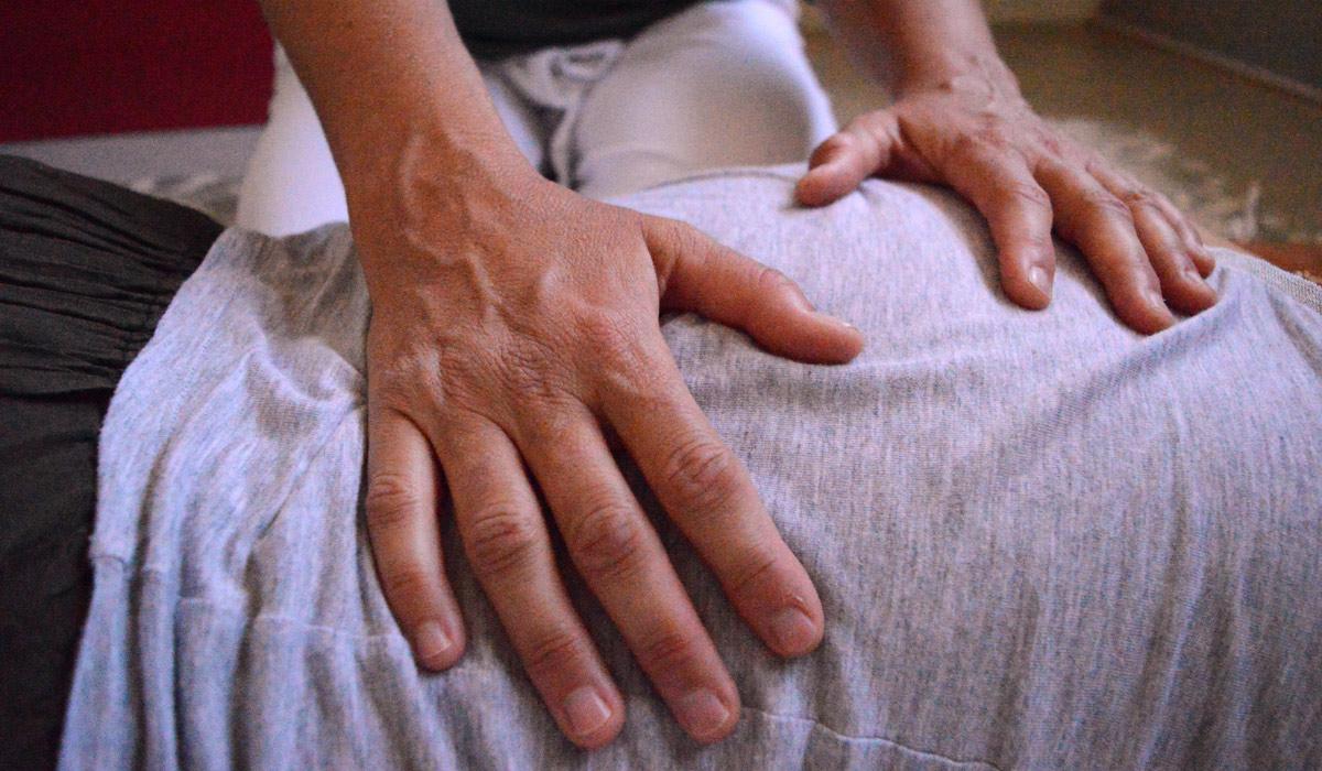 shiatsu massage rug