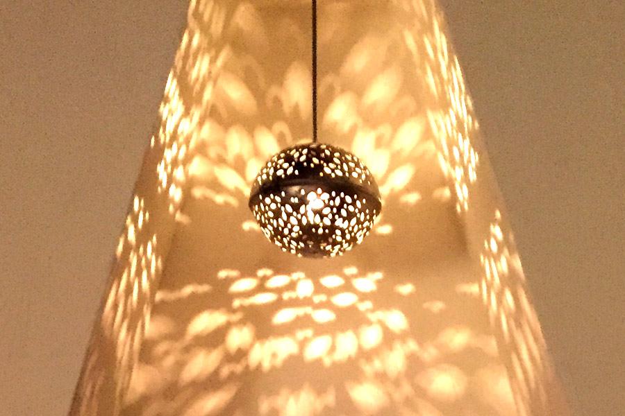 lampje patroon schijnsel